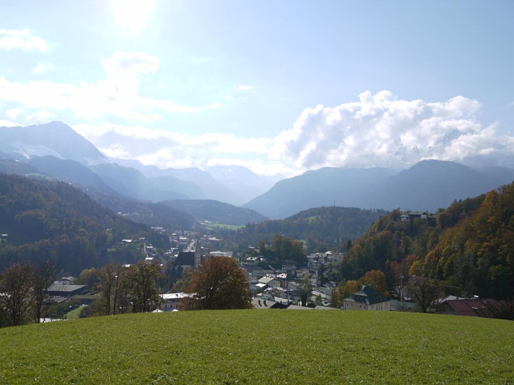 Berchdesgaden mit Watzmann